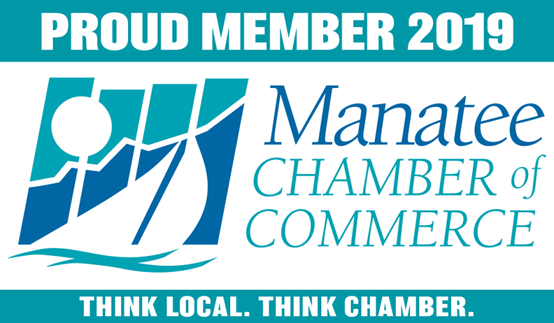 Proud Member of the Manatee Chamber of Commerce